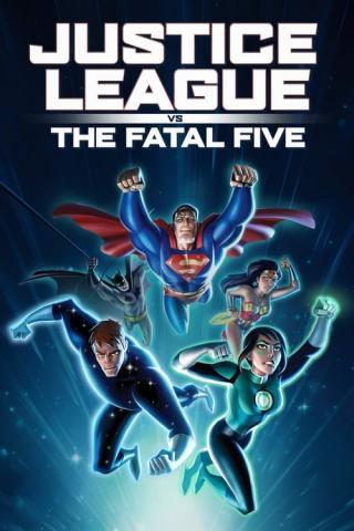 Liga de la Justicia vs los Cinco Fatales