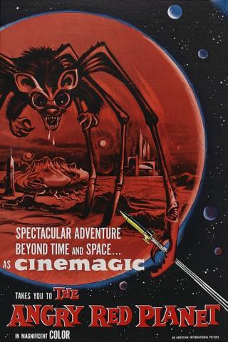 La furia del planeta rojo (1959)