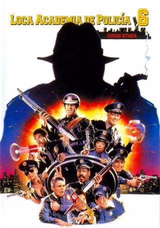 Loca academia de policía 6: Ciudad sitiada (1989)