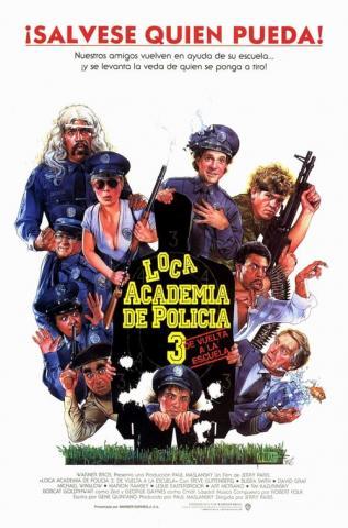 Loca academia de policía 3 (1986)