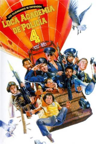 Loca academia de policía 4 (1987)