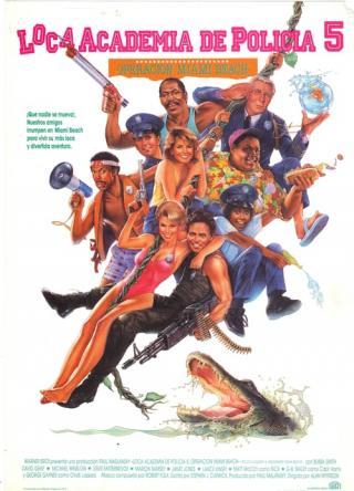 Loca academia de policía 5 (1988)